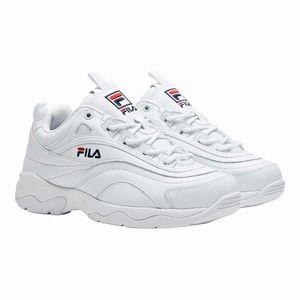 Women's white fila running shoes